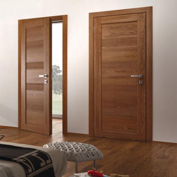Garofoli - Porta blindata Sovrana porta blindata con pannello Gavisio mod. Cinze 5PA4IN, rovere teak