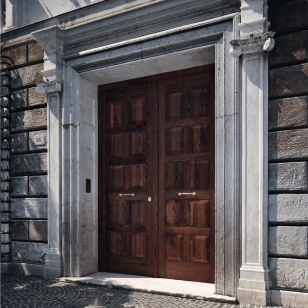 Garofoli - Porta blindata Sovrana a due ante mod 10B