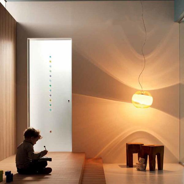 Henry Glass - Collezione Vetroveneto - Bruno Munari - Porta a ventola decoro Murrina 9