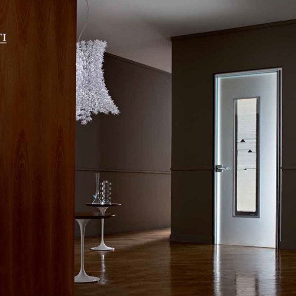 Henry Glass - Collezione Renata Bonfanti - Porta a battente stipite Isy decoro Arianna 21