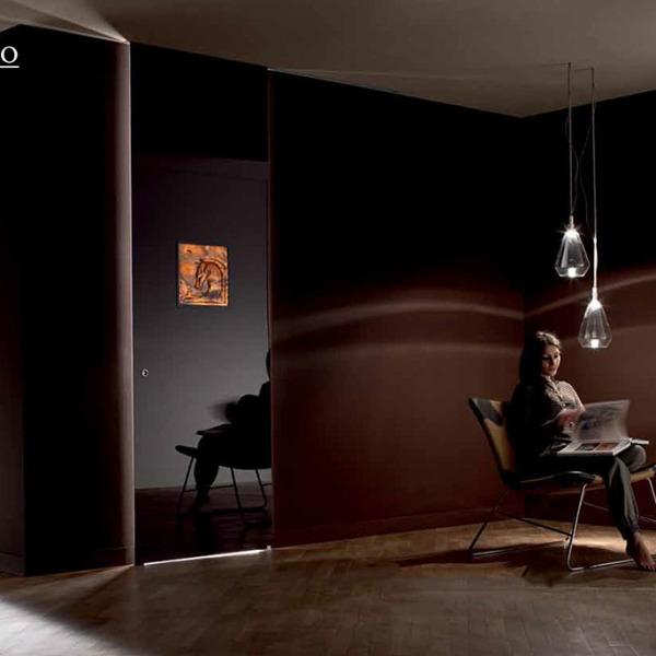 Henry Glass - Collezione Riccardo Dalisi - Scorrevole esterno muro Inside decoro Cavalvel