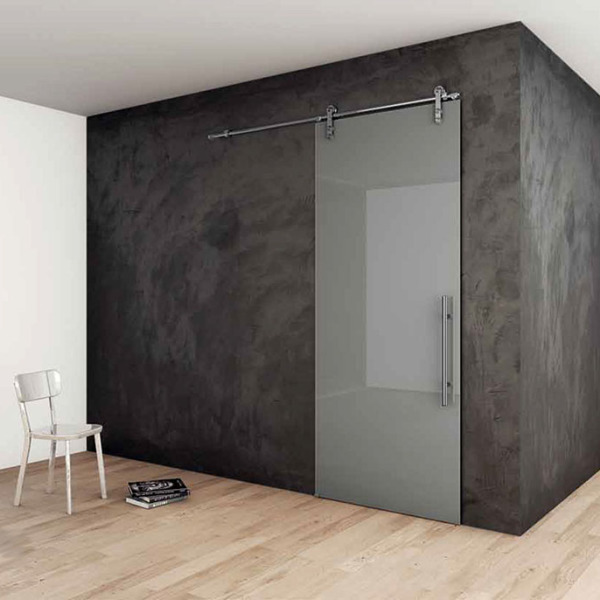 Henry Glass - Scorrevole esterno muro Vision